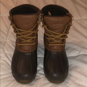 Sperry Kids Duck Boots Size 3